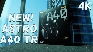 ASTRO A40 TR UNBOXING - 4K