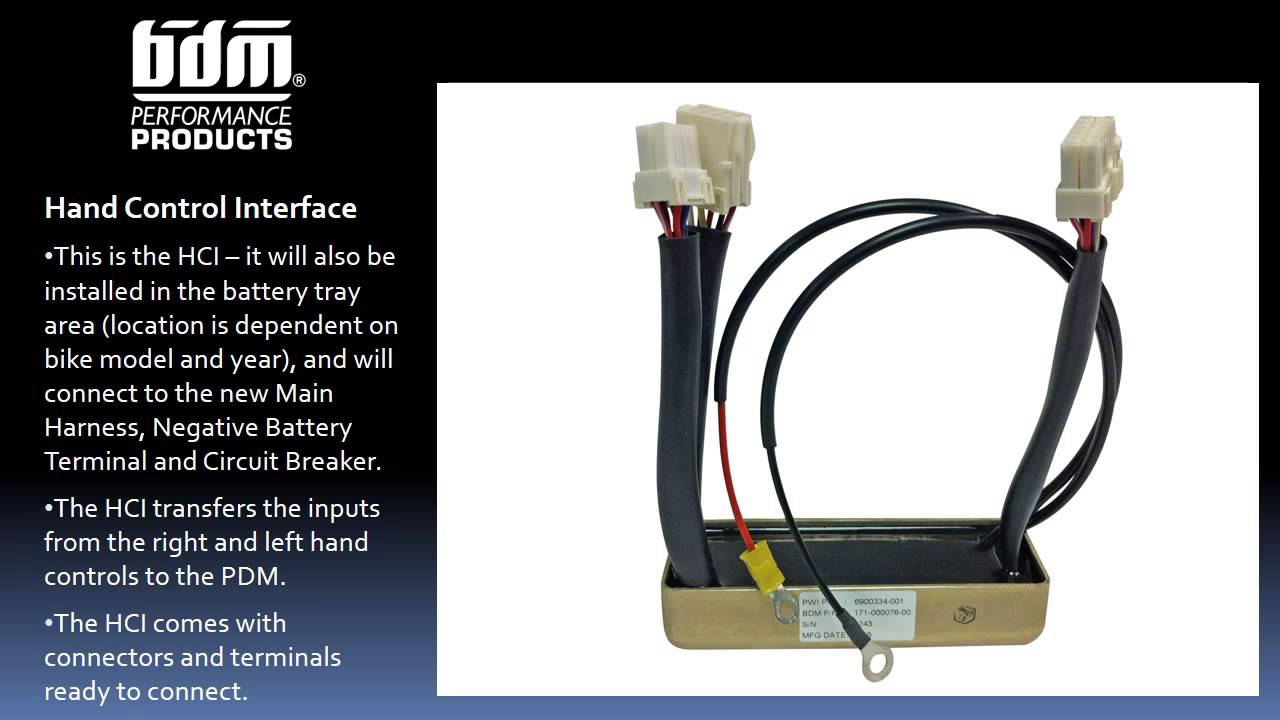 Learn More About the PDM Electrical System by BDM Performance Products  YouTube