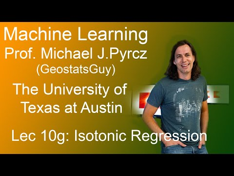 10g Machine Learning: Isotonic Regression