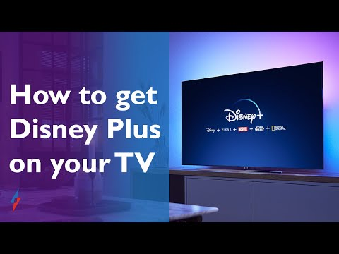How to get Disney Plus on a smart TV
