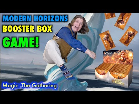 Let's Play The Modern Horizons Booster Box Game for Magic: The Gathering!