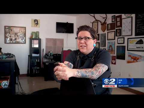 Inside the Story: Woman's drastic haircut inspires new career as a barber