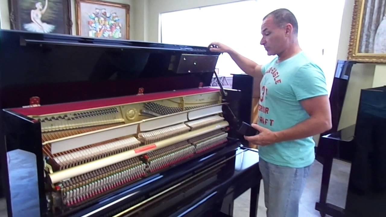 Yamaha u1 disklavier for matt youtube for Yamaha u1 disklavier upright piano