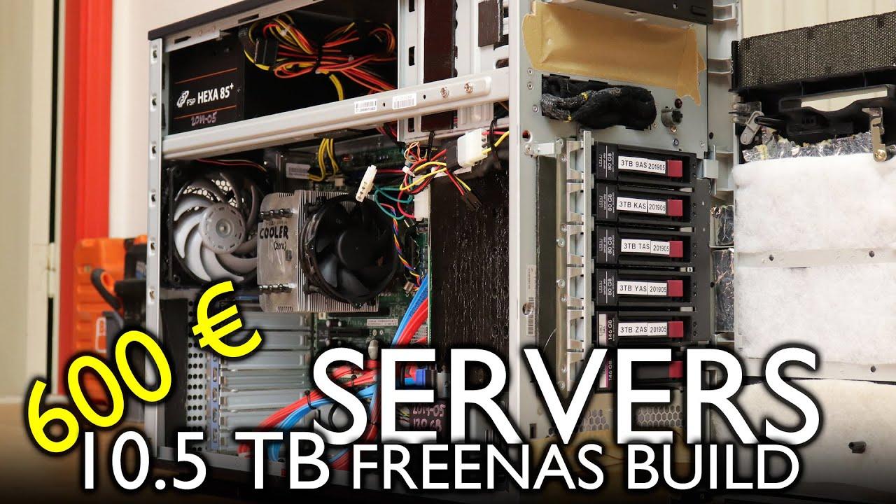 Building a FreeNAS server, FF style! (cheap & quiet)