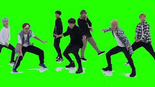 BTS (방탄소년단) DNA DANCE PRACTICE (GREEN SCREEN FANCAM)