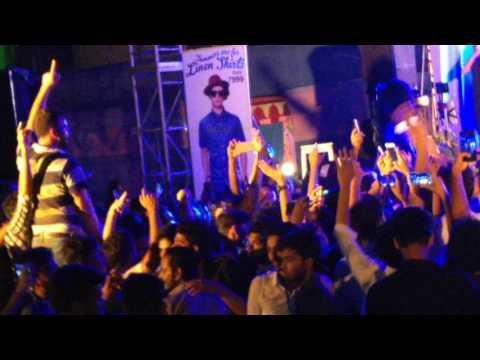 Baarish,halfgirlfriend ash king live #haldia institute of technolgy,riviera 2k17,