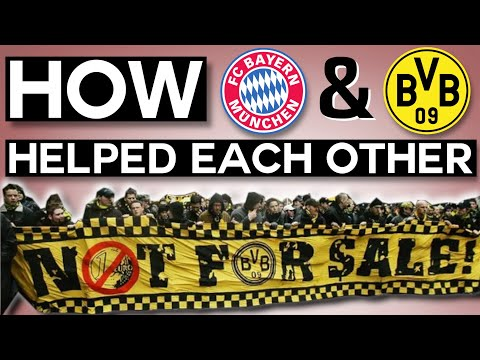When Bayern Helped Dortmund Avoid Bankruptcy, And BOTH Teams Won Because of It