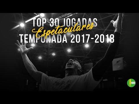 Top 30 Jogadas Espetaculares do NBB 2017-18