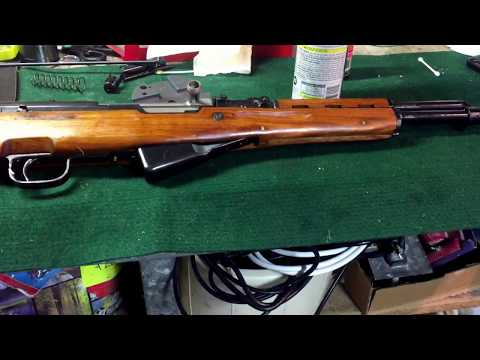 Chinese sks norinco new old stock cleaning