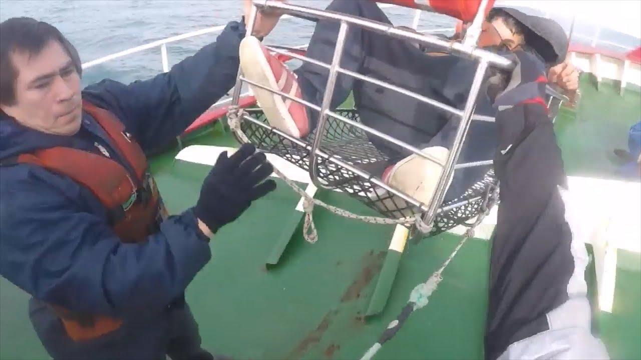 Resultado de imagen para Prefectura aeroevacuó de urgencia al tripulante de un pesquero