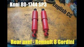 Renault 8 Gordini - Koni adjustable shock absorbers