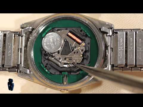 How to Remove & Replace Watch Movements