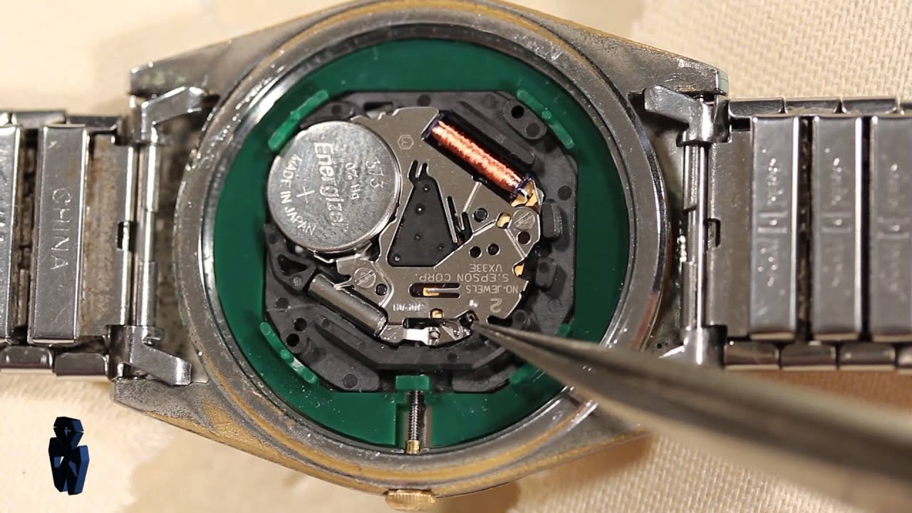 Hilfiger How To Remove Amp Replace Watch Movements Youtube