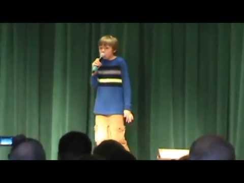 Joey sings
