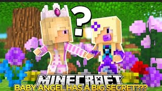 BABY ANGEL IS KEEPING A BIG SECRET FROM ME???- Baby Leah Minecraft Roleplay!.