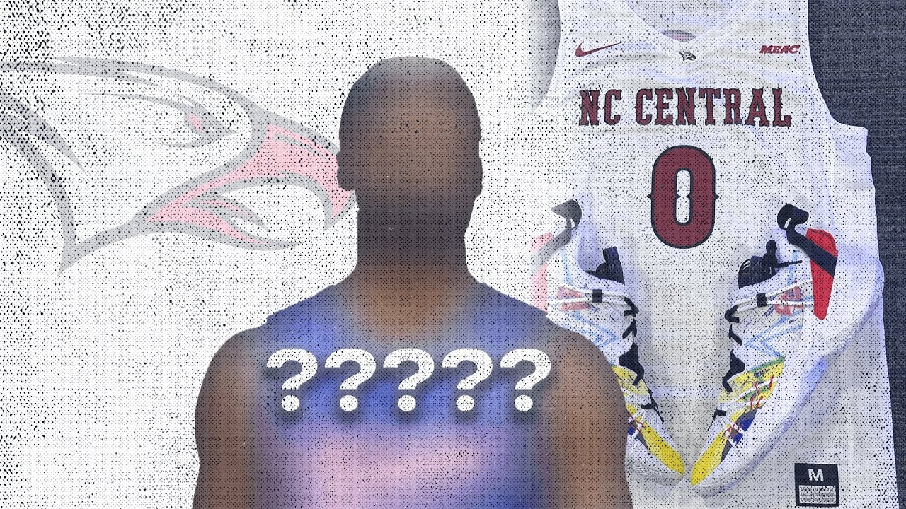 NCCU gets new shoes from NBA star