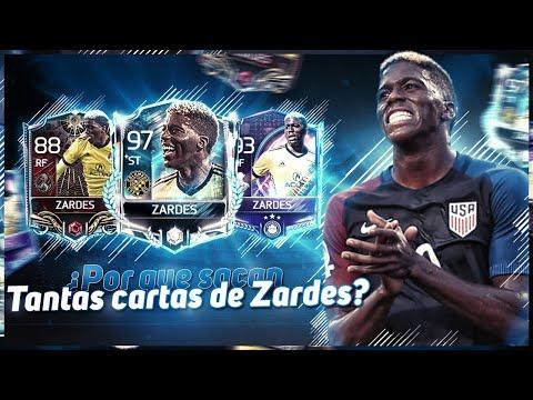 ¿POR QUÉ SALEN MUCHAS CARTAS DE ZARDES?   [FIFA MOBILE]   MONKEYPLAY  