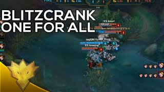 All Stars 2015 - One For All Blitzcrank Funny Moments & Highlights