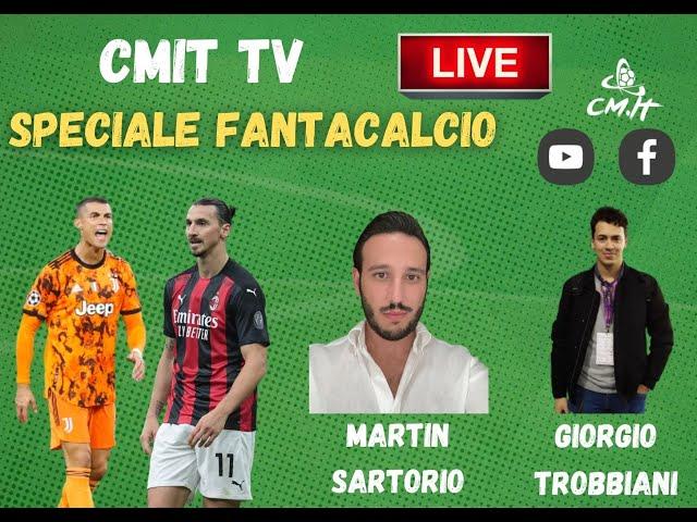 🔴 CMIT TV - SPECIALE FANTACALCIO: rispondiamo alle vostre domande LIVE!