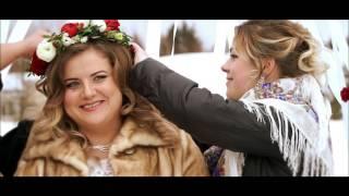Тёплая зимняя свадебная сказка для Александра и Светланы