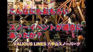 VARIOUS LINES 六甲山スノーパークに一夜限りのスノーボードパーク 平岡卓 検索動画 28