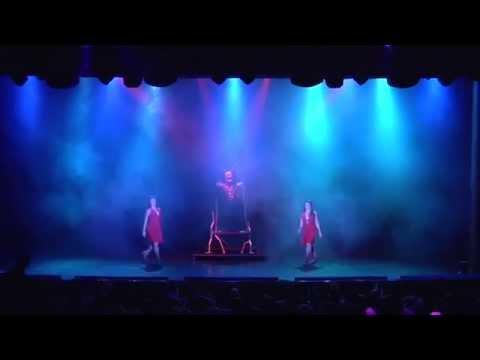 Hiroki Hara illusion show opening/ Asia illusionist