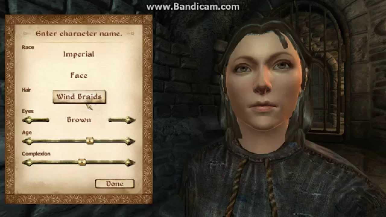 nexus oblivion character overhaul