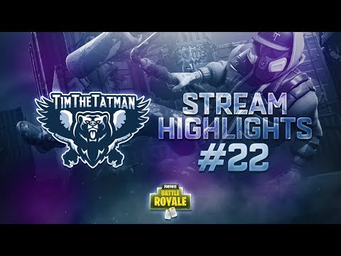 Fortnite Battle Royale Highlights #22 | TimTheTatman (ft. Ninja, Summit1G & Minikerr)