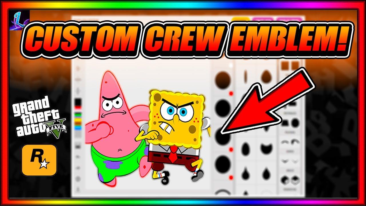 How to Get Custom Crew Emblems in GTA Online!