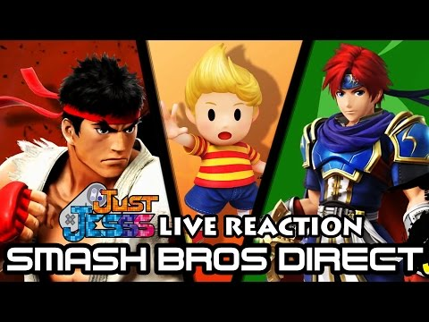 JustJesss Reacts Live: Ryu, Roy, AND Lucas Are Ready To Go!