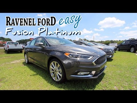 Here's the 2018 Ford Fusion Platinum w/EcoBoost - In Depth Review @ Ravenel Ford