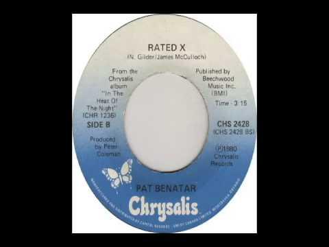 Pat Benatar - Rated X  (1979)