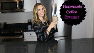 Healthier Homemade Coffee Creamer