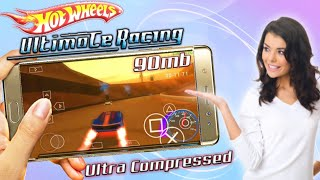 Hot Wheels Ultimate Racing Ultra Highly Compressed PSP Iso Game Android  Best PSP Settings  Gameplay