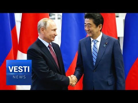 BREAKING! Putin Meets With Abe in Moscow For Conclusion of Peace Treaty Between Russia and Japan