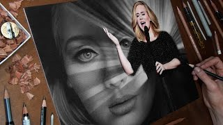 Drawing Adele