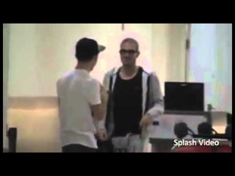 Max George And Nathan Sykes Fight It Out In Sydney
