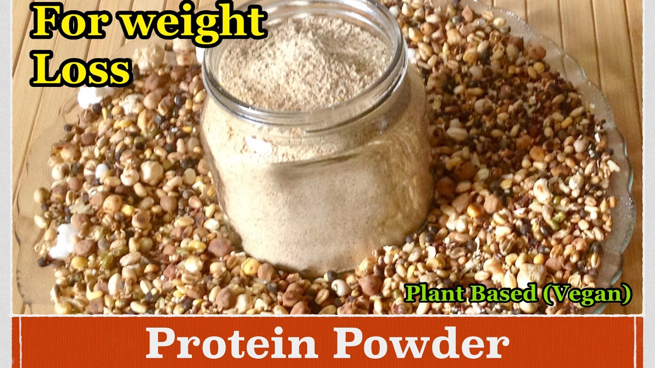 homemade protein powder | how to make protein powder for weight loss