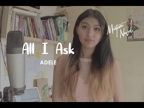 All I Ask Adele Cover by Mentari Novel