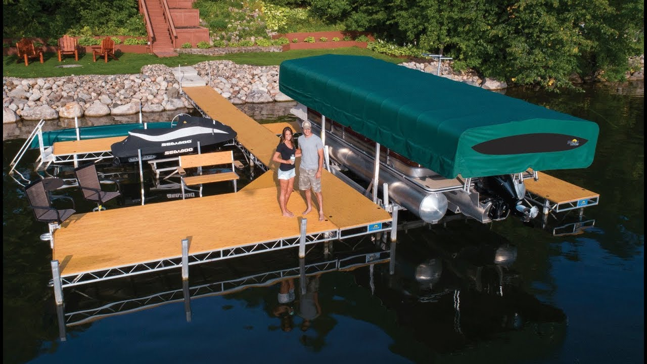 2019 Floe 4' X 16' Rolling Dock Color