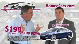 Awesome August - Romeo Real Deal - Buick Verano
