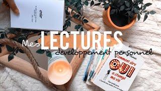 LECTURE / 8 livres développement personnel au top 📚