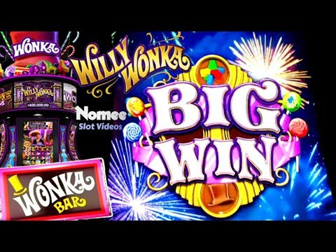 ★NEW GAME★ WILLY WONKA DREAM FACTORY Slot Machine - Over 30 Minutes of WINNING!!