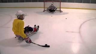 Sled Hockey Shooting and Passing