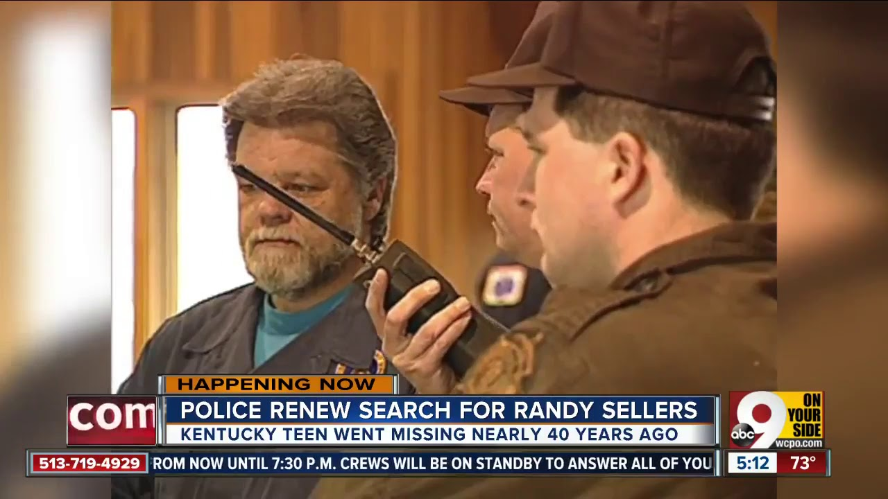 Police renew search for Randy Sellers in 1980 missing person case