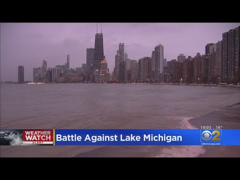 Lance Houston - Rough Winter Conditions Taking a Toll on Lake Shore Drive