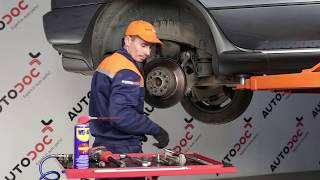 How to replace Brake caliper on SKODA YETI - video tutorial