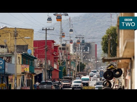 The Cable Car Commute - Mexico City: World's Busiest Cities | BBC Two