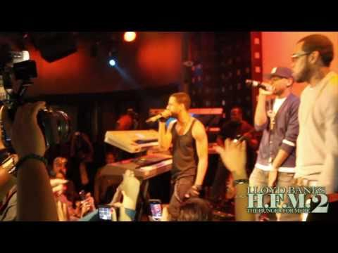 Lloyd Banks x Fabolous x Ryan Leslie  Start It Up  @ SOB, NYC