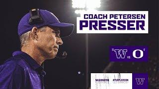 Football: Chris Petersen Press Conference (Oregon Week)